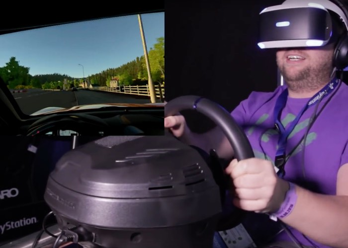DriveClub VR Gameplay