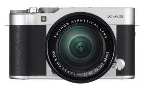 FUJIFILM X-A3 Mirrorless Camera Announced