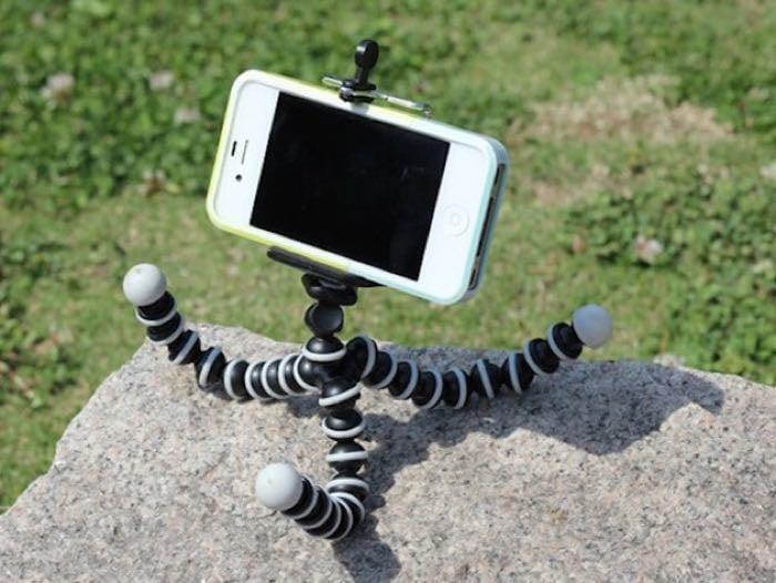 Flexible Tripod for Smartphones