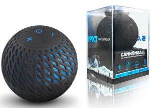 Cannonball Audio 360 Degree IPX-7 Floating Speaker (video)