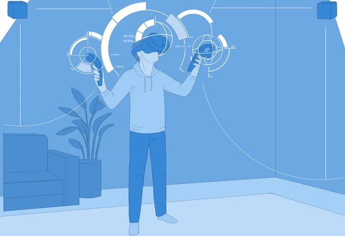 HTC Vive Room-Scale Tracking