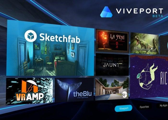 HTC Viveport Virtual Reality App Store