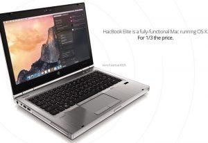 Upgradeable HackBook Elite Mac OS X Laptop