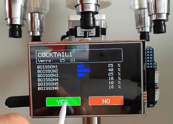 HardWino Open Source Arduino Cocktail Maker