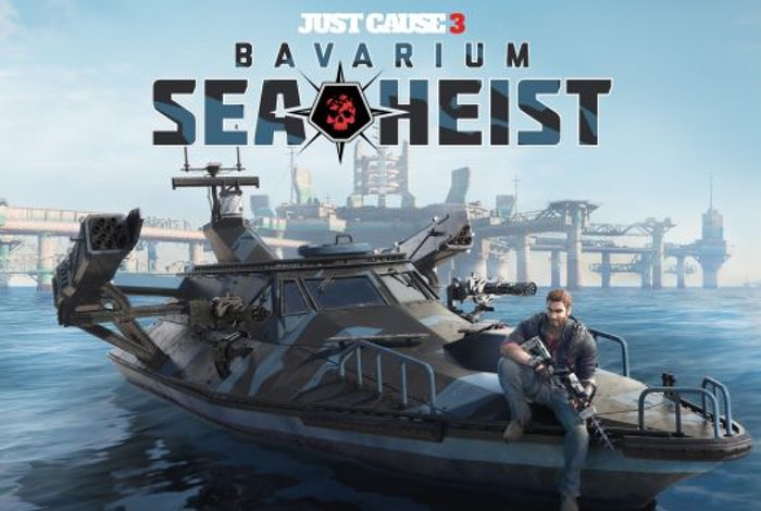 Just Cause 3 DLC Bavarium Sea Heist