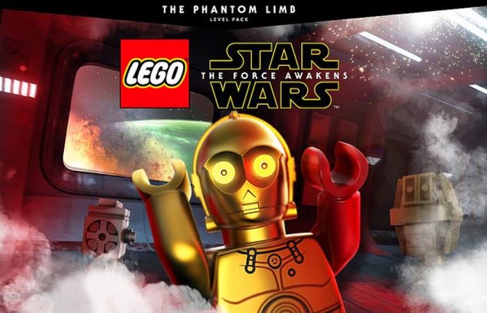LEGO Star Wars The Force Awakens Phantom Limb