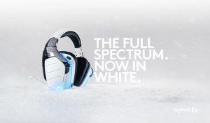 Logitech G933 Artemis Spectrum Snow 7.1 Gaming Headset Announced