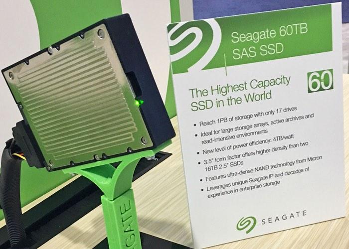 Massive 60TB SAS SSD