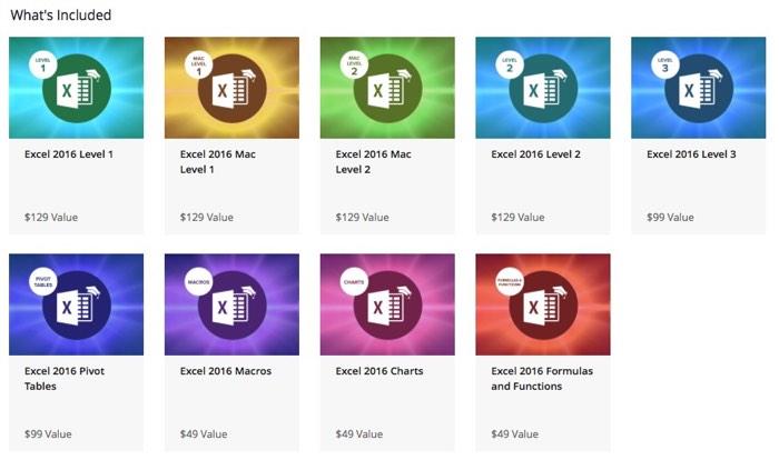 Master Microsoft Excel 2016 Bundle