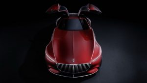 New Vision Mercedes Maybach 6 Coupe Leaked