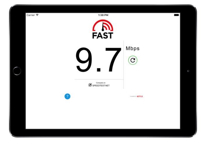 Netflix Minimal Speed Test Tool