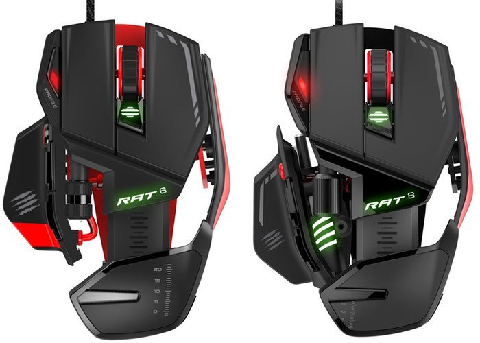 New Mad Catz RAT Gaming Mice