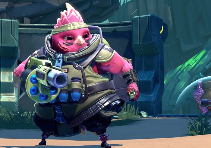 New Pink Bird Battleborn Hero Ernest Unveiled