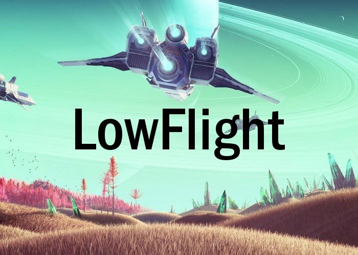 No Man's Sky LowFlight PC Mod