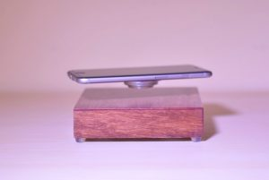 OvRcharge Levitating Wireless  Smartphone Charger (video)