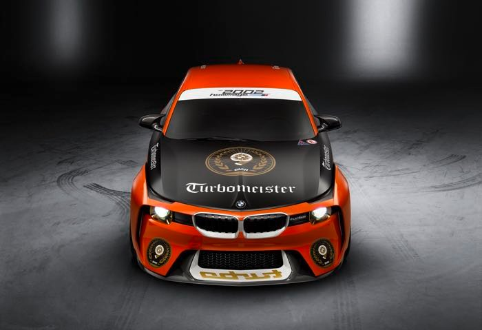 BMW 2002 Hommage Unveiled At Pebble Beach