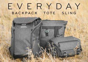 Peak Design Everyday Backpack, Tote, and Sling Hit Kickstarter (video)