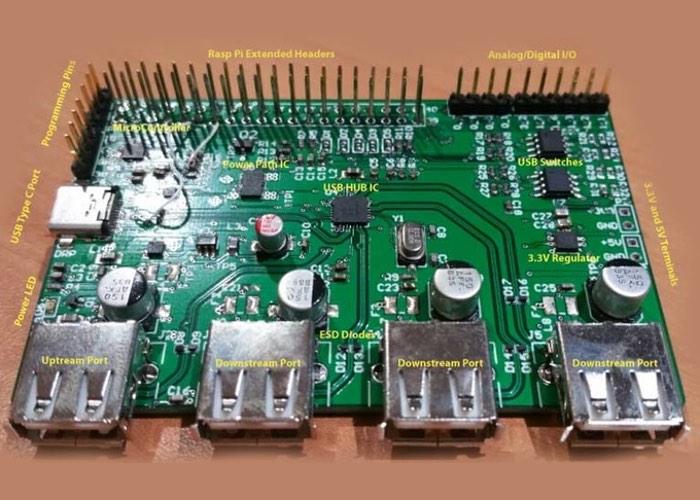 PiCHUB USB-C Raspberry Pi Hub