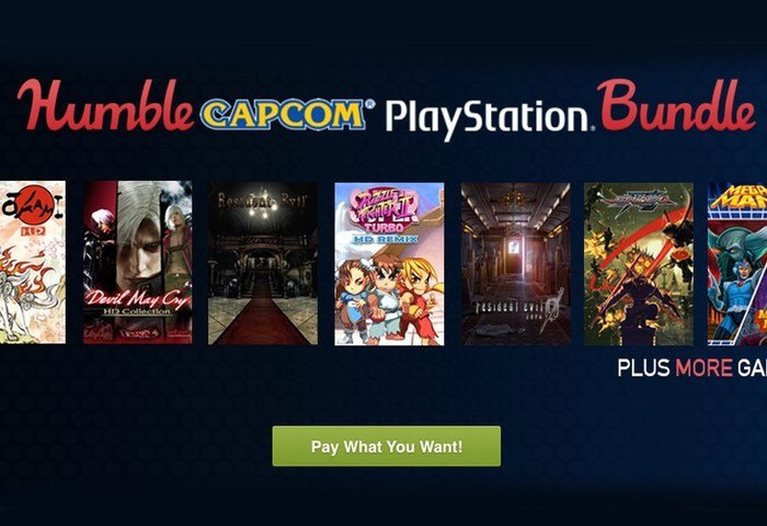 PlayStation Humble Capcom Bundle