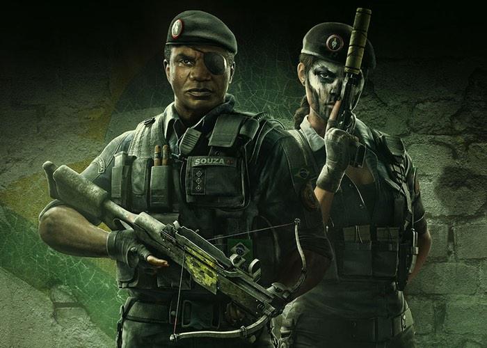 Rainbow Six Siege's Skull Rain Operators