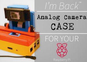 Raspberry Pi Analog Camera Digital Converter Case (video)
