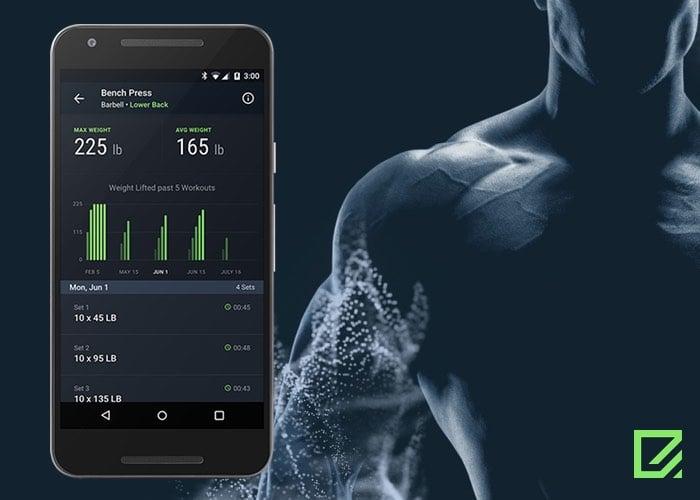 Rithmio Edge Weightlifting Tracker