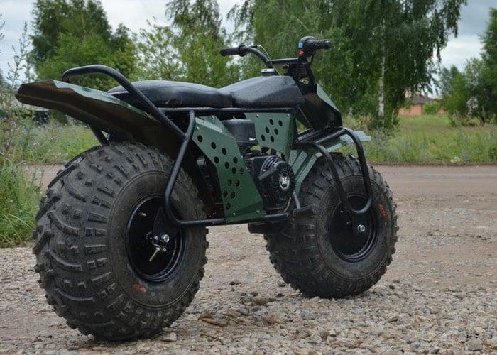 Rugged TARUS 2x2 Motorcycle