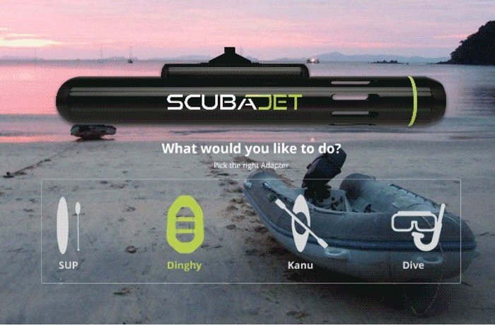 SCUBA JET Versatile Water Sports Water Jet Engine