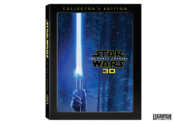 Star Wars The Force Awakens 3D Collector's Edition