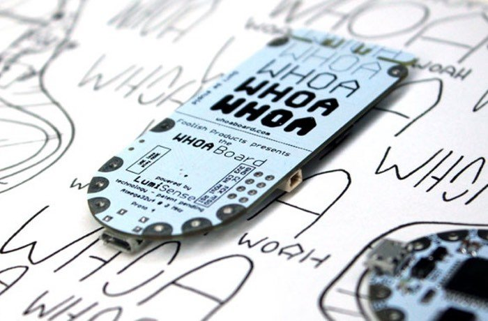 Whoa Board Turn Any Electro-Luminescient Material Into A Touch Sensor