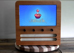 Awesome Wooden Retro Arcade Cabinet Powered By Raspberry Pi (video)