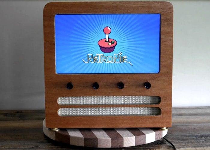 Wooden Retro Arcade Cabinet