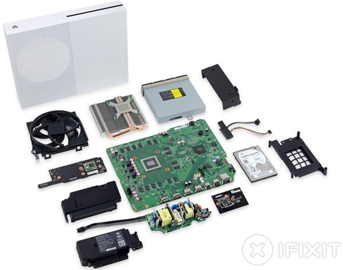 Xbox One S Console Teardown