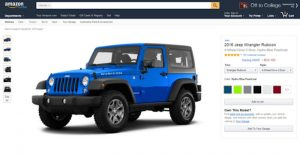 Amazon Vehicles Will Help You Research Cars
