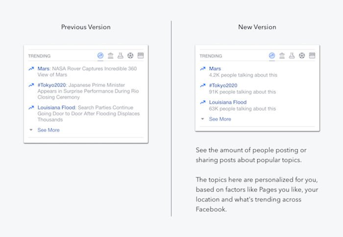 After prejudice claims, FB modifies its