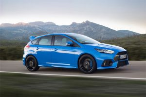 Ford Focus RS Performance Driving School comes with Purchase