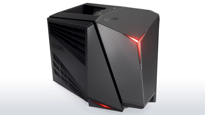 Ideal for gamers who want to stay competitive no matter where they play, the IdeaCentre Y710 Cube comes with a built-in carry handle for easy transport between gaming stations. Housed sleekly within a new, compact cube form factor weighing only 7.4 kg, it features up to NVIDIA®'s latest GeForce® GTX 1080 graphics, up to 6th Gen Intel® Core™ i7 processor and up to 32GB of DDR4 RAM to handle today's most resource-intensive releases. The IdeaCentre Y710 Cube lets players confidently handle 4K gaming, VR and high-quality streaming with massive computing capabilities in real time, as well as multitask between editing a spreadsheet and streaming a movie.   The IdeaCentre Y710 Cube comes with up to lightning-fast Killer™ DoubleShot™ Pro Wi-Fi, Windows® 10 Home, up to integrated Dolby Audio™ and up to 2TB HDD (hard disk drive) or up to 256GB SSD (solid state drive) storage, letting gamers enjoy their entire gaming libraries. For those who want even more control in their favorite games, the Cube also comes with the option of an integrated Xbox One™ Wireless receiver including one Xbox One Wireless controller. The receiver supports up to eight Xbox One controllers simultaneously for endless hours of gaming sessions with friends. Additionally, the system offers players the option to bundle peripherals like the Lenovo Y Series Gaming Mechanical Keyboard and Precision Mouse.