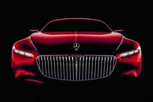 Mercedes Maybach Coupe Teased Again