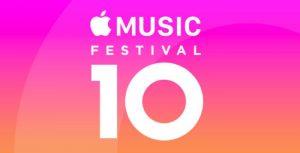 Apple Music Festival 10 Kicks Off Next Month