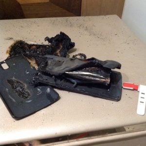 OnePlus One bursts into flames in India