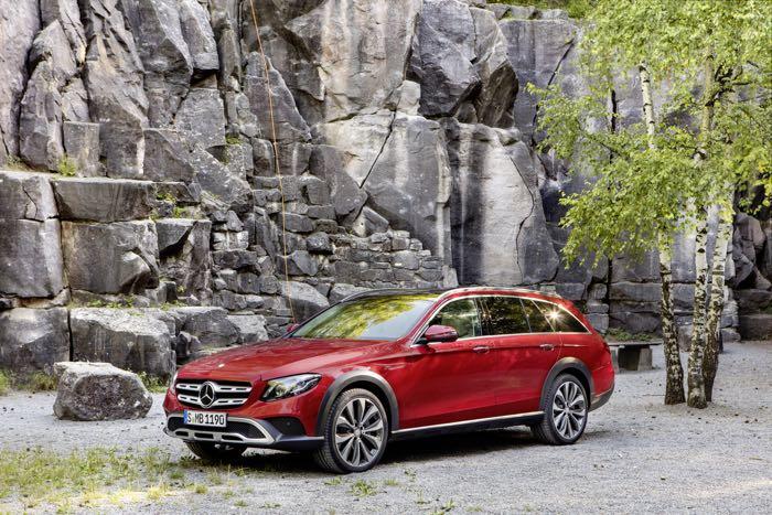 New Mercedes-Benz E-Class All Terrain Teaser Alert!