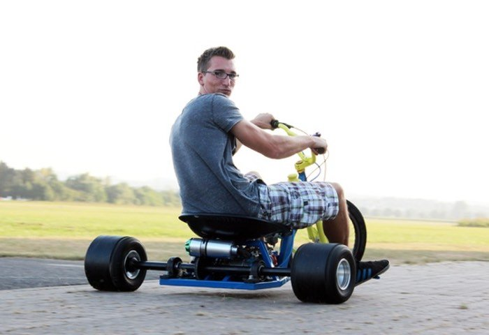 125ccm Motorised Drift Tricycle Created