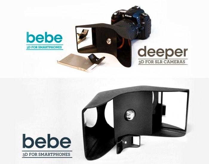 3D Printed Kúla Bebe Lens Adapter