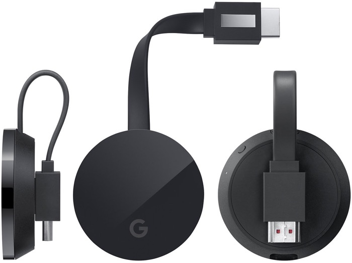 4K Google Chromecast Ultra