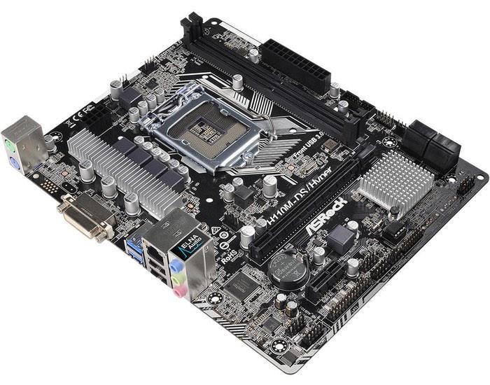 ASRock H110M-DS Hyper Affordable Gaming Motherboard
