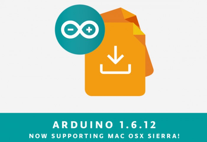 Arduino IDE 1.6.12 Released With Mac OS Sierra