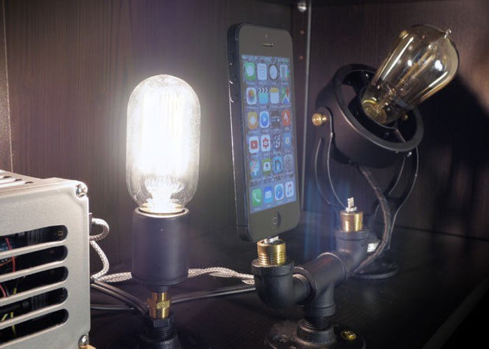 Arduino SteamPunk Charging Dock