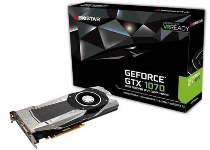 BIOSTAR GeForce GTX 1070 Founders Edition