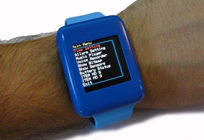 Culbox open source diy arduino smartwatch video geeky
