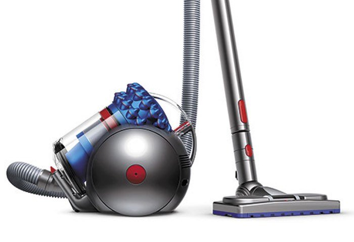 dyson cinetic big ball vacuum cleaner now available for 600 video geeky gadgets. Black Bedroom Furniture Sets. Home Design Ideas